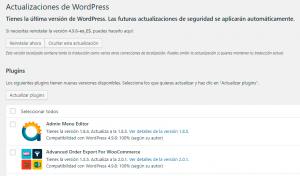 Actualizaciones-wordpress